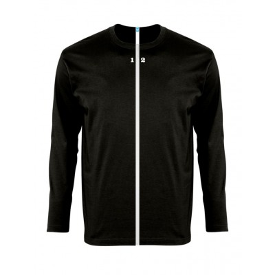 Home T-shirt separable man long sleeve black - 12teeshirt.com