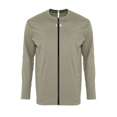 T-shirt separable man long sleeve khaki