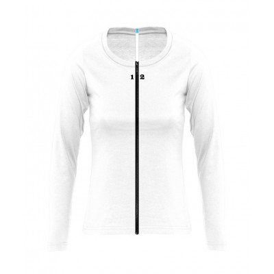 Home T-shirt separable woman long sleeve white - 12teeshirt.com