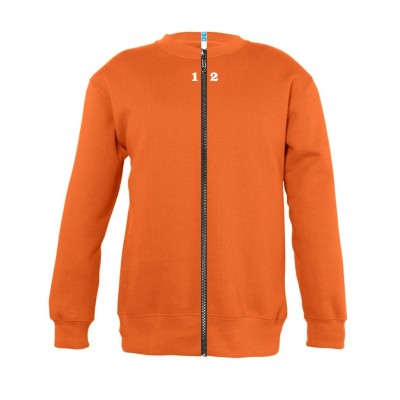 Sweat-shirt séparable enfant orange