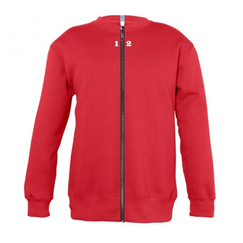 Sweat-shirt séparable enfant rouge
