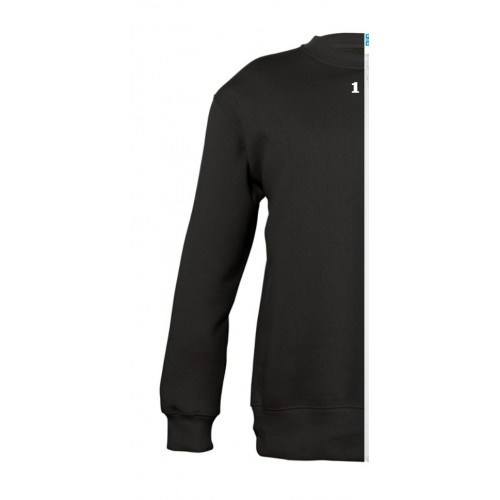 Sweat-shirt bicolor children left part black