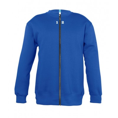 Sweat-shirt séparable enfant bleu royal
