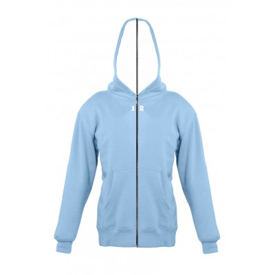 Sweat-shirt separable children with hood sky blue
