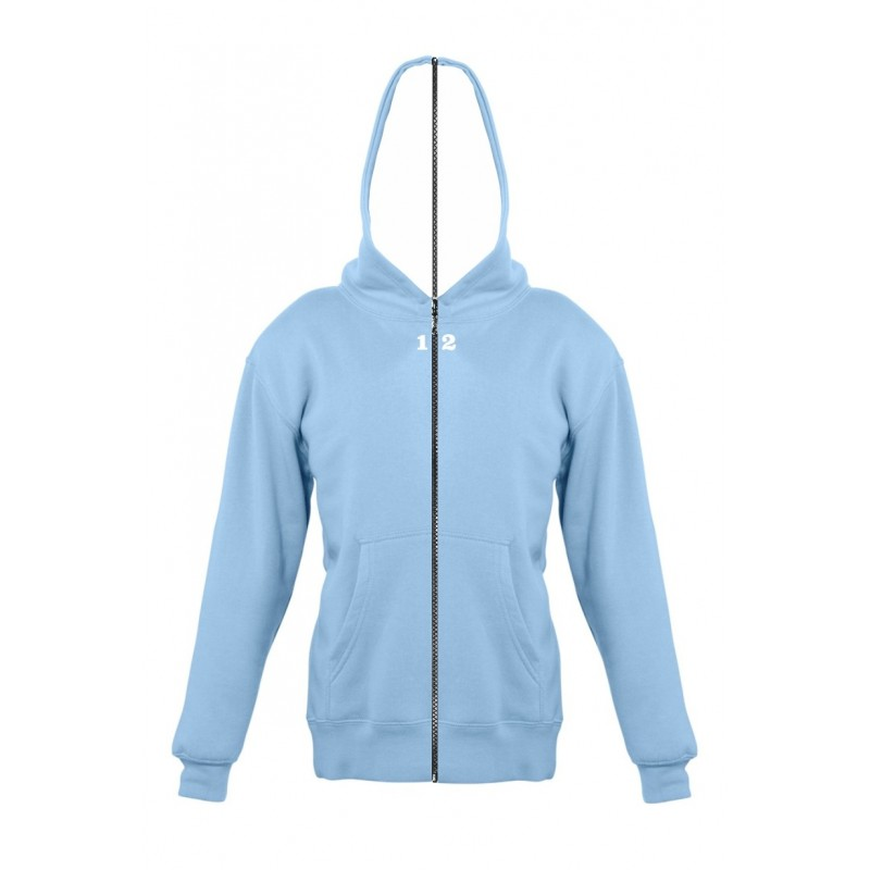 Home Sweat-shirt separable children with hood sky blue - 12teeshirt.com