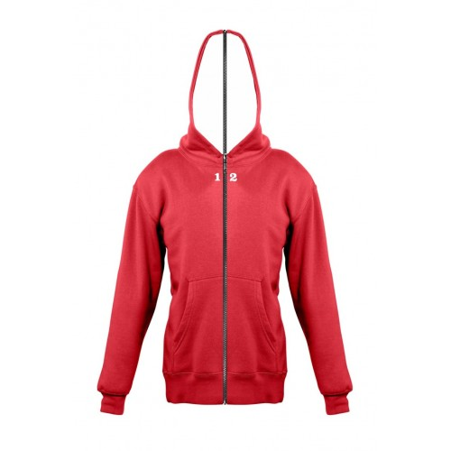 Sweat-shirt separable children with hood red
