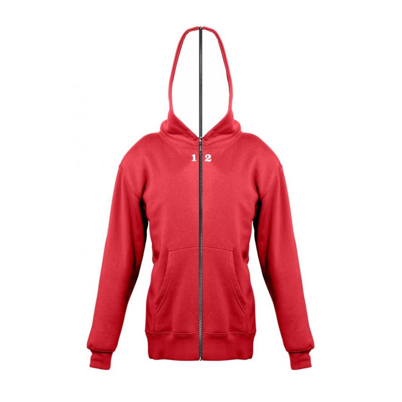 Home Sweat-shirt separable children with hood red - 12teeshirt.com