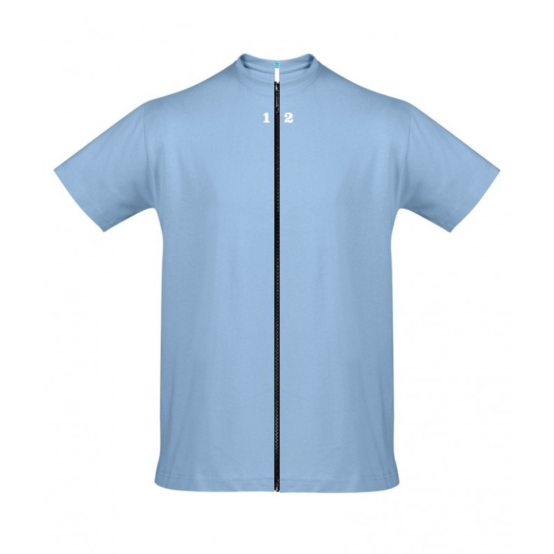 Home T-shirt separable man short sleeve sky blue - 12teeshirt.com