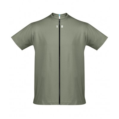T-shirt separable man short sleeve khaki