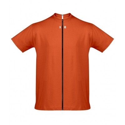 Home T-shirt separable man short sleeve orange - 12teeshirt.com