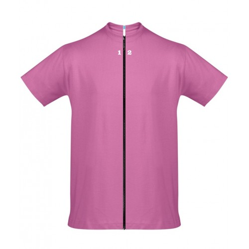 T-shirt separable man short sleeve orchid pink