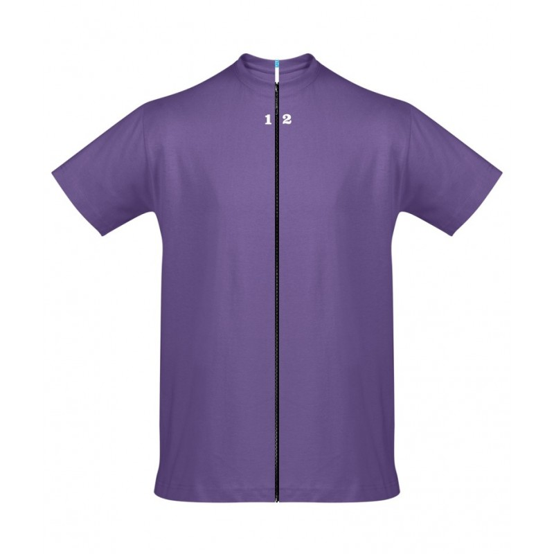 Home T-shirt separable man short sleeve purple - 12teeshirt.com