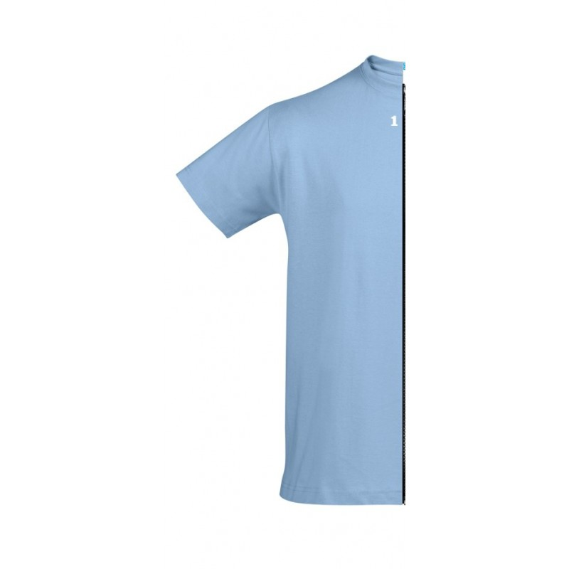 Home T-shirt man short sleeve sky blue - 12teeshirt.com