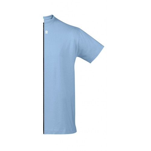T-shirt man short sleeve sky blue