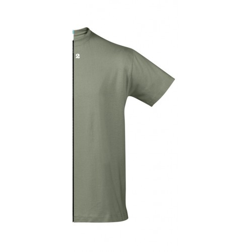 T-shirt man short sleeve khaki