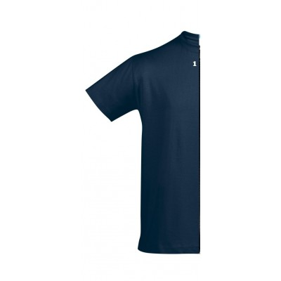 Home T-shirt man short sleeve navy blue - 12teeshirt.com