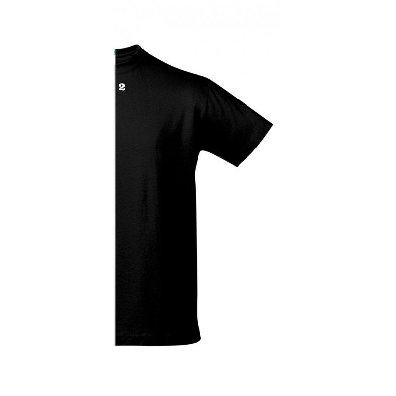 Home T-shirt man short sleeve black - 12teeshirt.com