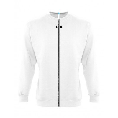 Sweat-shirt séparable homme blanc