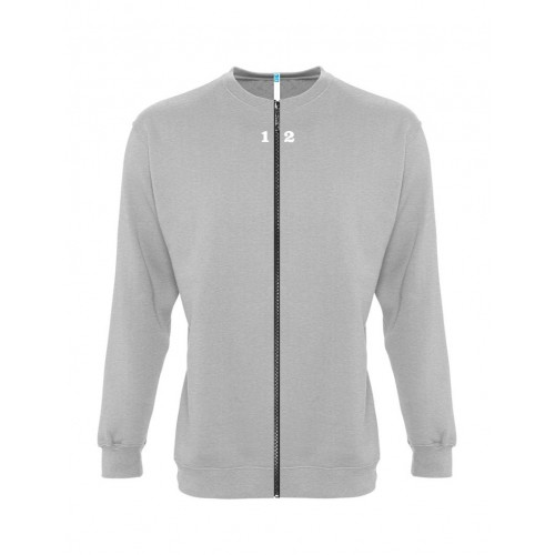 Sweat-shirt séparable homme gris chiné