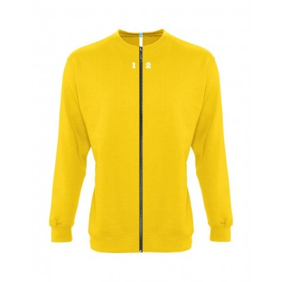 Sweat-shirt séparable homme jaune
