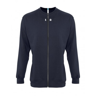 Sweat-shirt séparable homme bleu marine