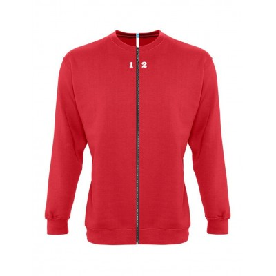 Sweat-shirt séparable homme rouge