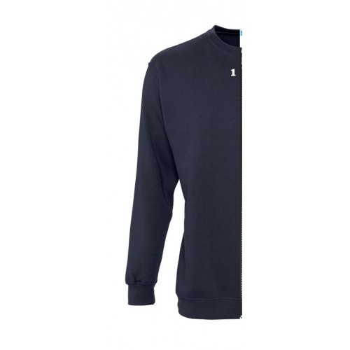 Sweat-shirt man navy blue