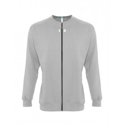 Sweat-shirt séparable femme gris chiné