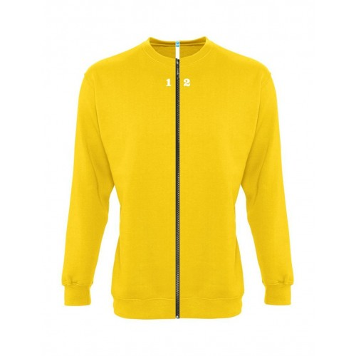 Sweat-shirt séparable femme jaune