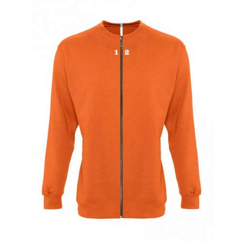 Sweat-shirt séparable femme orange