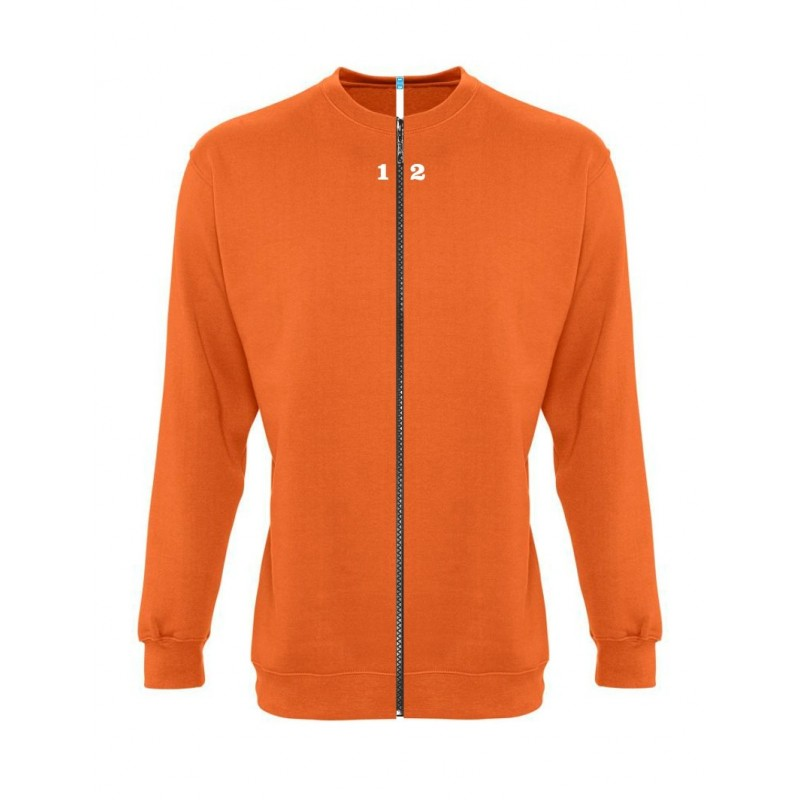 Accueil Sweat-shirt séparable femme orange - 12teeshirt.com