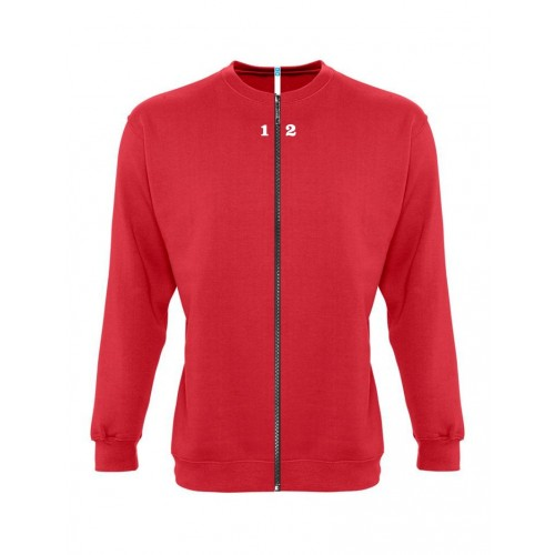 Sweat-shirt separable woman red