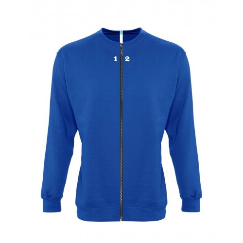 Sweat-shirt séparable femme bleu royal