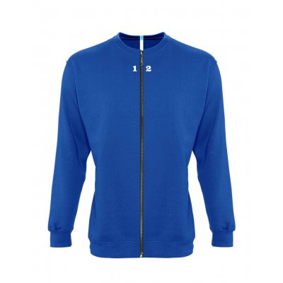 Sweat-shirt separable woman royal blue
