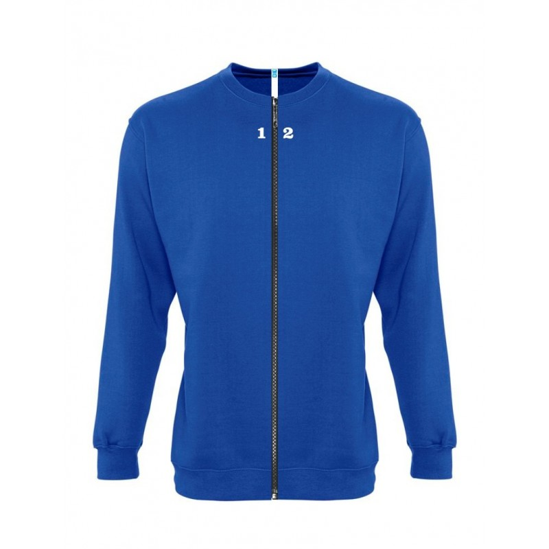 Home Sweat-shirt separable woman royal blue - 12teeshirt.com