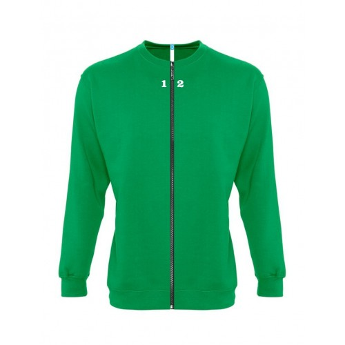 Sweat-shirt separable woman kelly green
