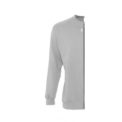 Sweat-shirt woman grey melange