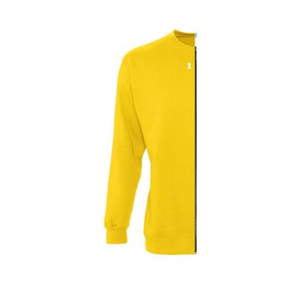 Sweat-shirt woman yellow
