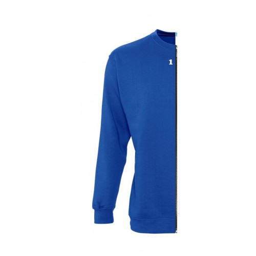Sweat-shirt woman royal blue