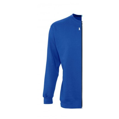 Home Sweat-shirt woman royal blue - 12teeshirt.com
