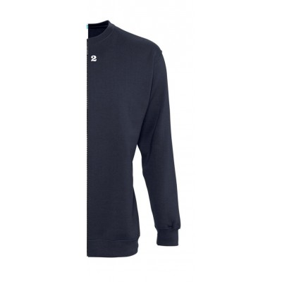 Sweat-shirt woman navy blue
