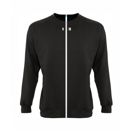 Sweat-shirt séparable homme noir