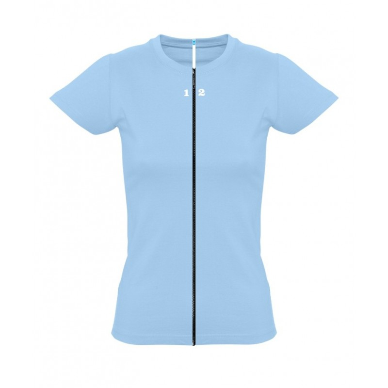 Home T-shirt separable woman short sleeve sky blue - 12teeshirt.com