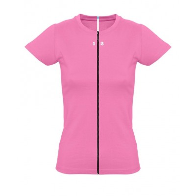 Home T-shirt separable woman short sleeve orchid pink - 12teeshirt.com