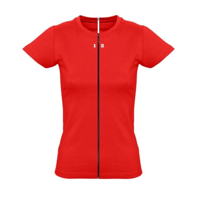 Home T-shirt separable woman short sleeve red - 12teeshirt.com