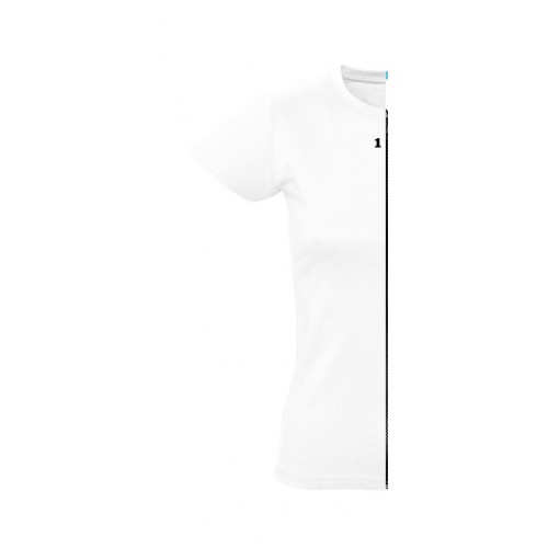 T-shirt woman short sleeve white