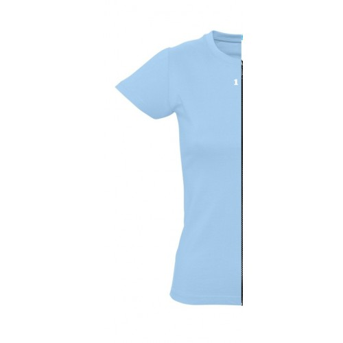 T-shirt woman short sleeve sky blue