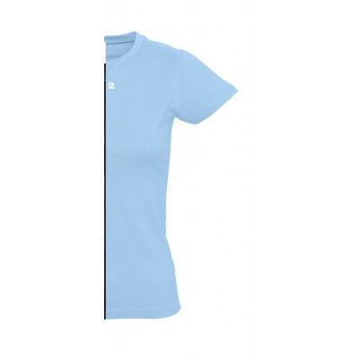 Home T-shirt woman short sleeve sky blue - 12teeshirt.com