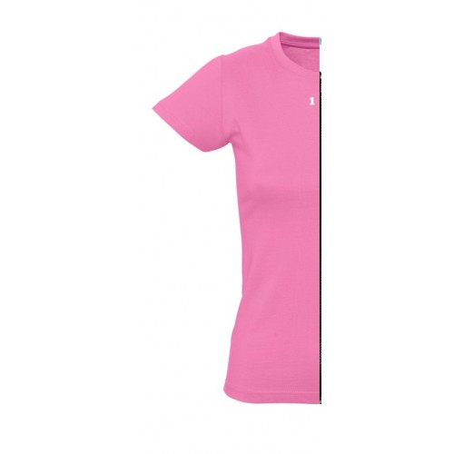 T-shirt woman short sleeve orchid pink