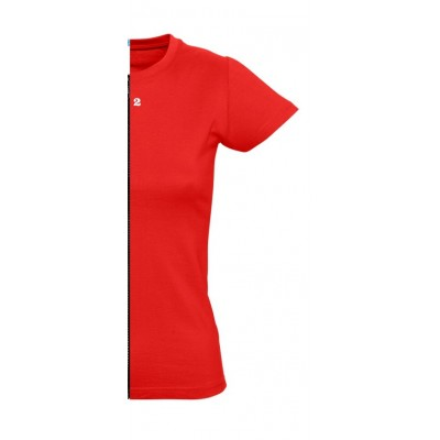 T-shirt woman short sleeve red